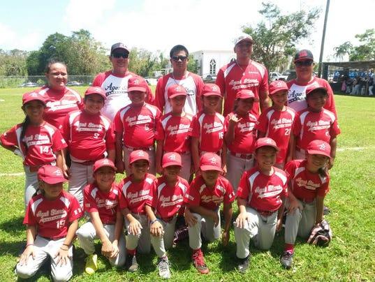 Clash of girls' youth baseball teams was historic