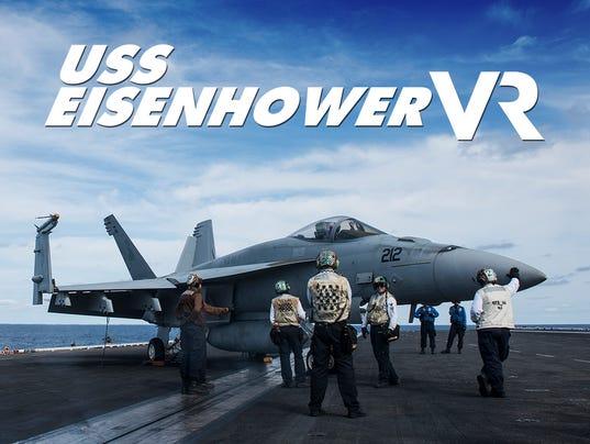 USS Eisenhower VR interactive