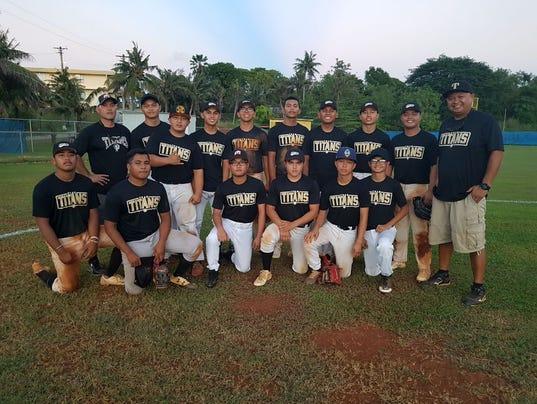 Tiyan Titans Baseball 2017