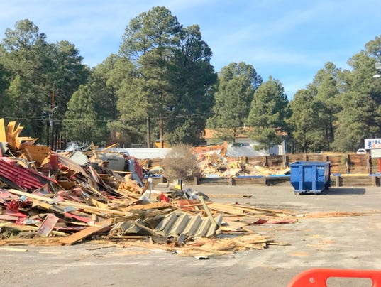 allsup's demolition of two buildings