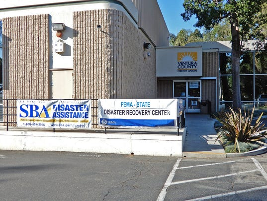 Ventura FEMA Disaster Recovery Center