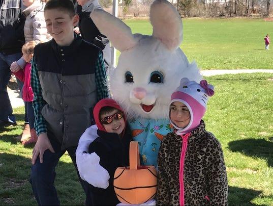 Annual Easter Egg Hunt, Hillsborough PHOTO CAPTION