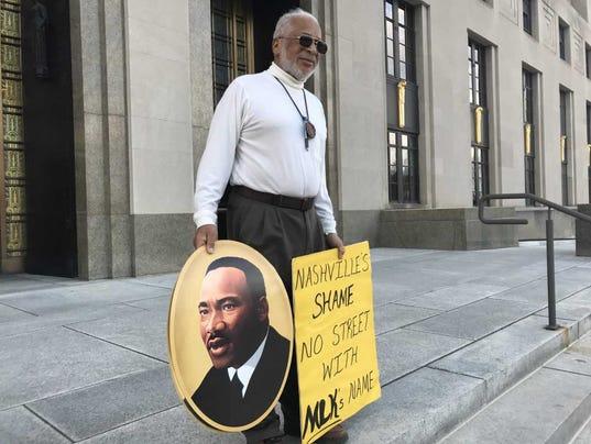 Nashville civil rights leader Kwame Lillard