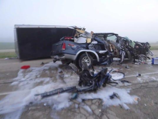 Beaver County Dodge >> Iowa woman identified as passenger killed in Dodge County crash involving pickup, semi