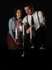 "Kevin Earley and Christina King are in Alabama Shakespeare Festival's production of ""The Glass Menagerie."""