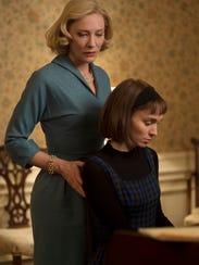 Cate Blanchett, left, and Rooney Mara in 'Carol.'