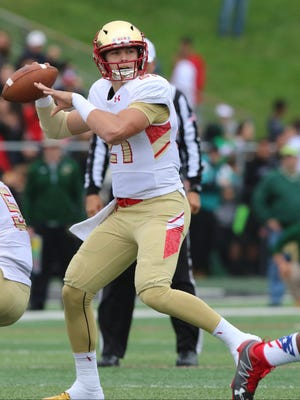 Bergen Catholic quarterback Johnny Langan announced his commitment to Boston College on Saturday.