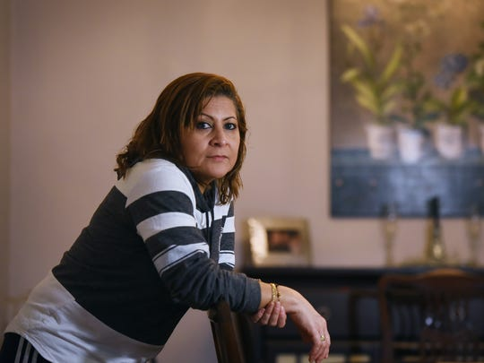 Photo of Lorena Telles, who is among 6,800 Salvadorans in New Jersey who have Temporary Protected Status which the Trump administration announced Monday it will end in Sept. 2019, poses for a photo at her home in Fairview on 01/08/18.