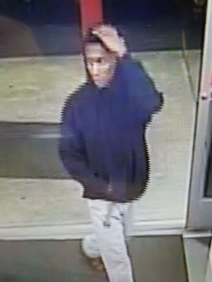 Montgomery police are searching for this man after an April 29 armed robbery.