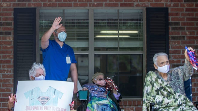 The Michigan health department says it will provide rapid response staffing for nursing homes and other long-term health care facilities in Allegan, Ottawa and nine other Michigan counties if they are hit by a COVID-19 outbreak and face a staff shortage.