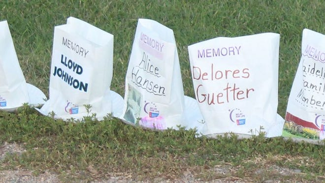 Those who attend the fundraising event being held in Morgan Friday will have the chance to buy luminaries.
