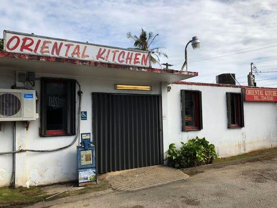 Oriental Kitchen is shown in this March 7, 2018, photo.