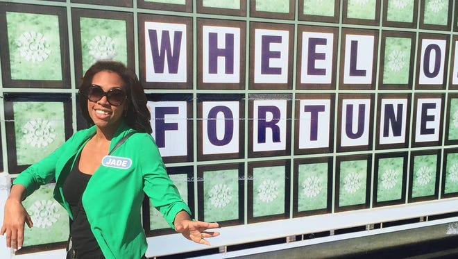 """Yonkers resident Jade Greene-Grant appeared  on ABC's """"Wheel of Fortune""""   Sept. 14."""