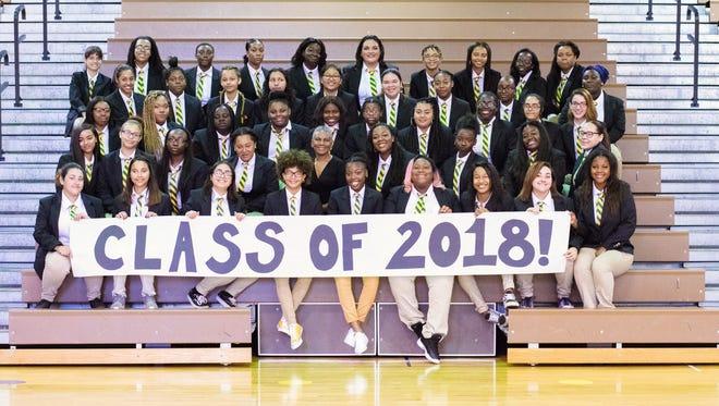 The YWCP senior class.