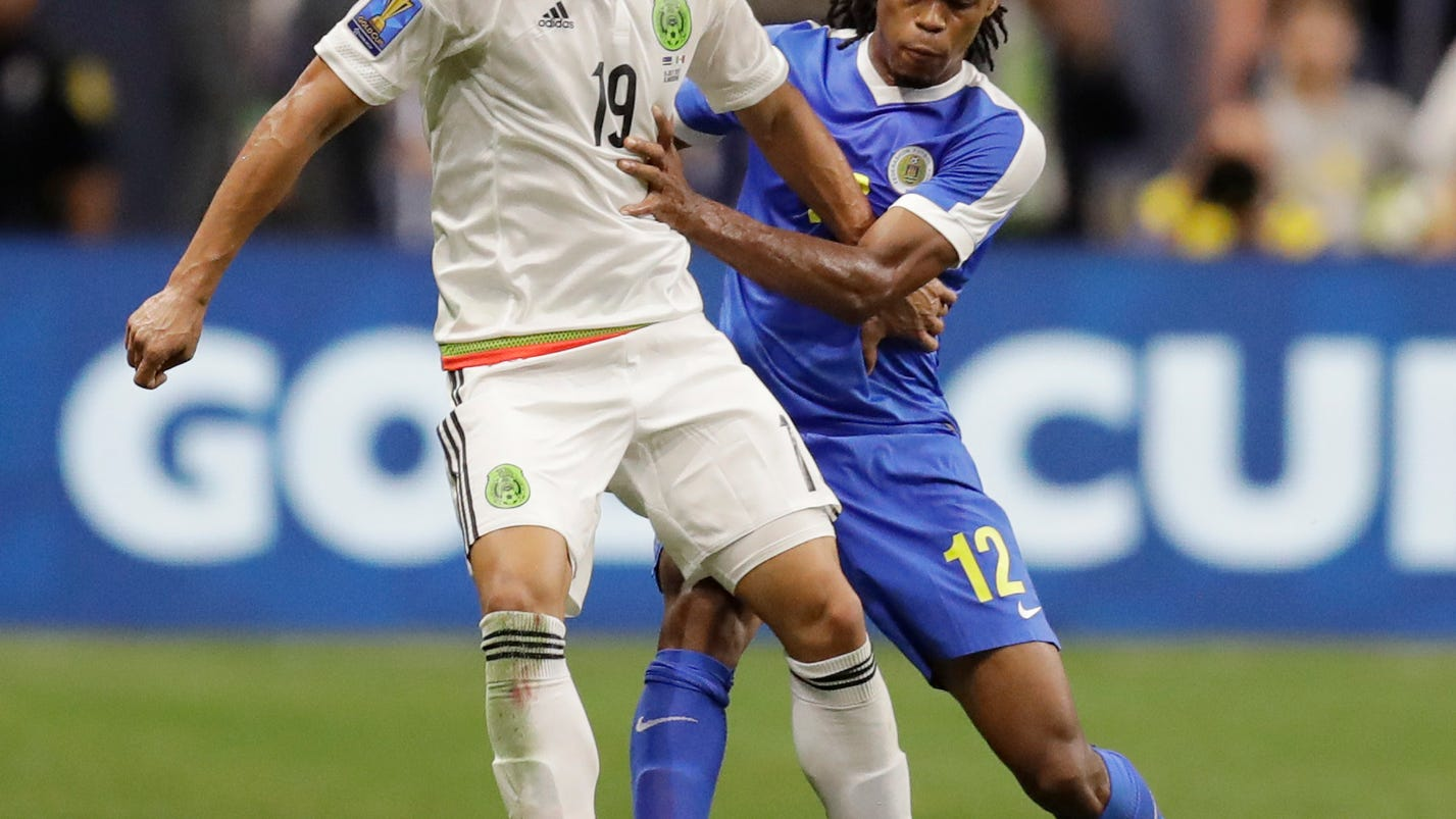 Mexico beats Curacao 2-0 to win CONCACAF Group C