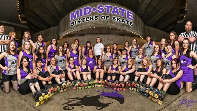 The Mid-State Sisters of Skate will hold their final home event this Saturday at the Arnott Lions Park Arena in Stevens Point.