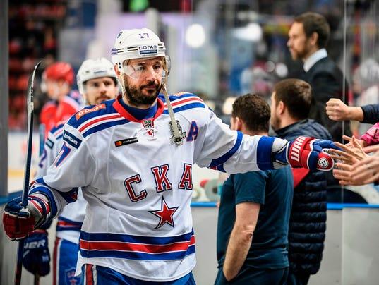 IHOCKEY-RUS-NHL-KHL-KOVALCHUK