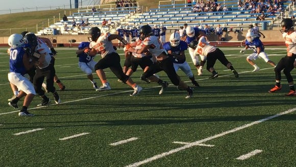 Nocona and Windthorst scrimmaged Friday night.