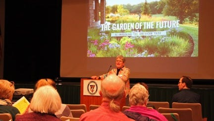 The 2018 GardenWise event, a one-day school for gardeners of all abilities, will be held at Central York Middle School on March 10. Last year's event is pictured.