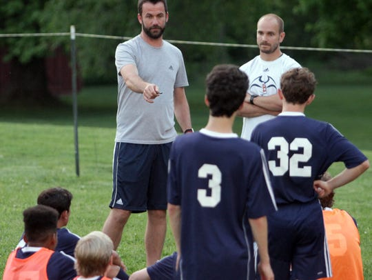 Station Camp has hired Jeremy Cooke (left) to coach the school's boys and girls soccer teams.