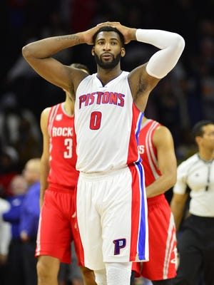 The Pistons would probably trade center Andre Drummond if not for the four years and $100 million left on his contract.