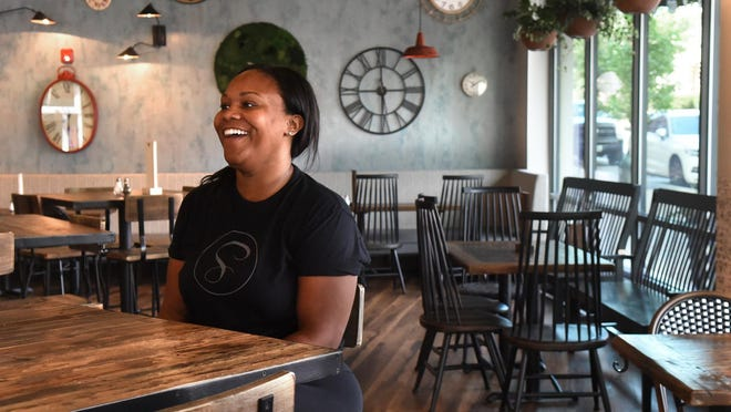 Jilan Hall Johnson, managing owner of the Sassy Biscuit Co., talks about her new Dover restaurant and how it's going so far in the Garrison City.