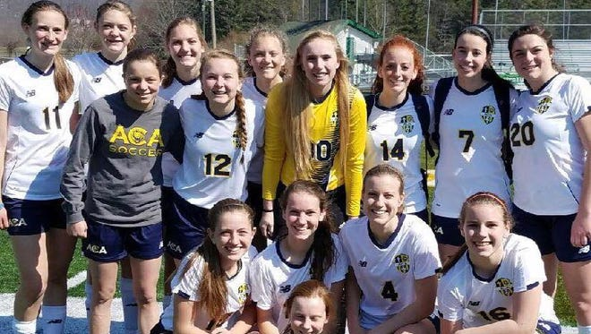 Asheville Christian Academy is home for Tuesday's semifinals of the NCISAA 2-A girls soccer tournament.
