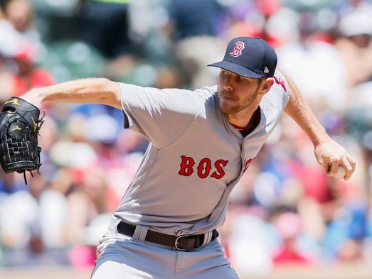 May 6: Chris Sale, Red Sox, 12 at Rangers