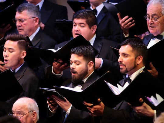"The California Desert Chorale performs ""Alleluia"" from"