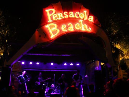 Pensacola Beach was rocking Saturday night with Grand Theft Audi