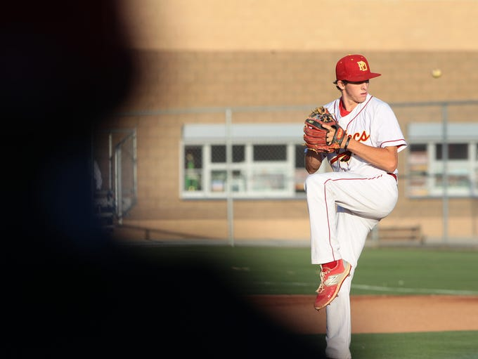 Palm Desert High School CIF game on May 12, 2015 against