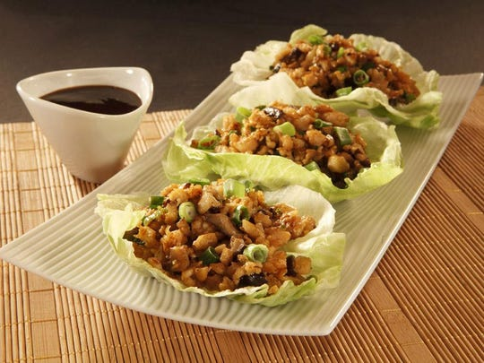 The Lao style lettuce cups are among Flo's appetizers.