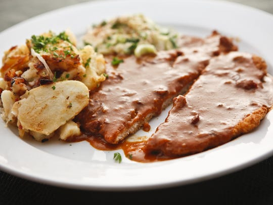 Haus Murphy's in Glendale offers a variety of schnitzel.