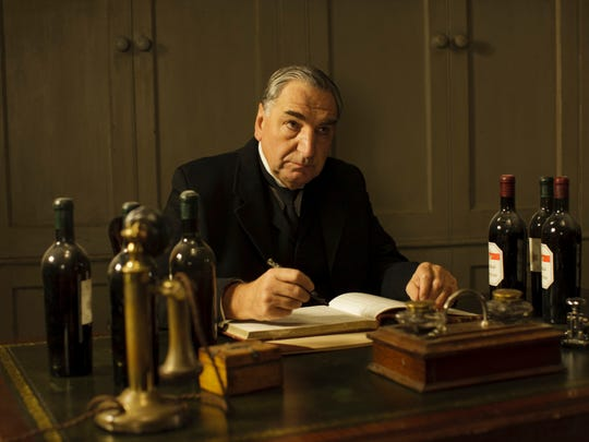 Jim Carter, as Mr. Carson, does not like change.