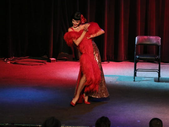 The members of Big Deal Burlesque will perform Friday at Vinyl Music Hall.