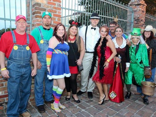 The Krewe of Blues' Halloween Pub Crawl & Poker Run stops at Sev