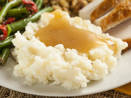 It's not Thanksgiving without mashed potatoes and gravy.