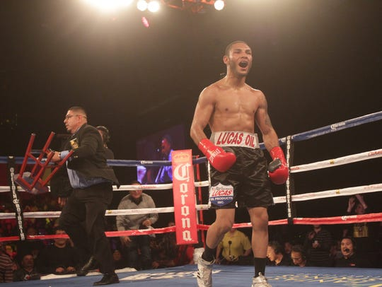 Andrew Cancio of Blythe, Calif. secured an 8th round knockout victory in 2018.