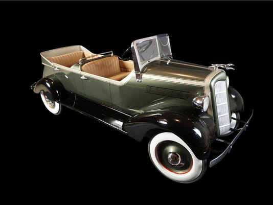 1935s Lincoln dual cowl phaeton pedal car by American National Skippy
