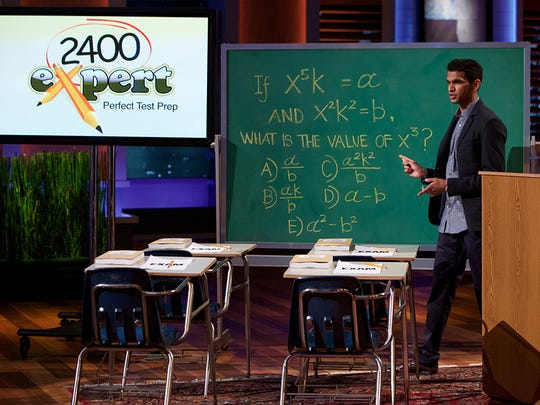 "On Episode 716 of ""Shark Tank,"" MBA/MD student Shaan Patel of Las Vegas, Nevada, who earned a perfect SAT score, wants to expand his business to help others increase their test scores, but can he deliver a perfect pitch to the Sharks? Patel's epsiode airs at 9 p.m. Jan. 29 on the ABC Television Network."