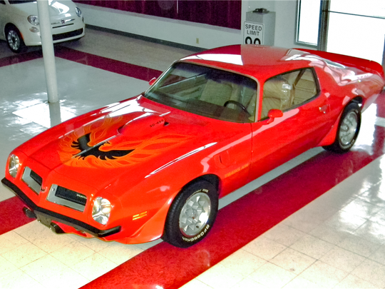 This Trans Am has about 58,000 miles and features its