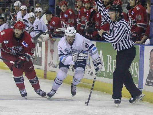 Ice Flyers Charlie Adams