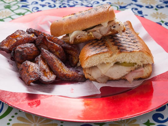 A Cuban sandwich is on the menu at Global Eatery in Red Bank.
