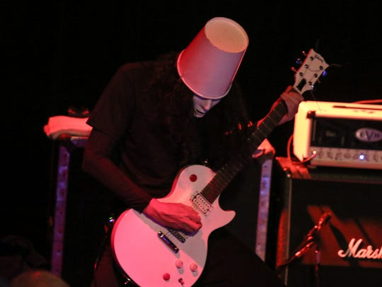 Vinyl Music Hall was packed during a prior concert with guitarist Buckethead.