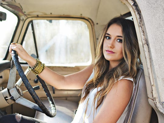 """Lainey Wilson, plays songs from her hit album Tougher"""" Saturday at the Downtown Country Festival"""