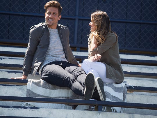 "JoJo Fletcher's hometown date to meet Jordan Rodgers' family (sans Aaron) in Chico, Calif., included a visit to his former high school on ""The Bachelorette."""