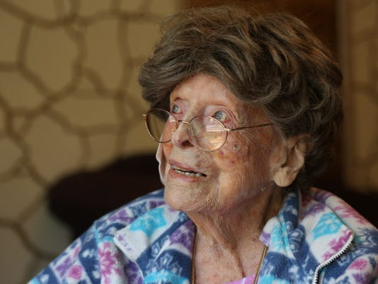Adele Dunlap is now the oldest person in America at 113 years of age. She resides at the Country Arch Care Center.