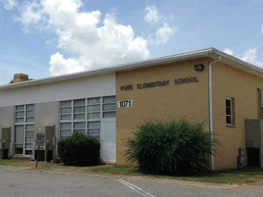 A file photo of Pope School a K-6 school on Old Humboldt Road in northwest Madison County. When local architectural and engineering firm TLM Associates conducted a district-wide facilities assessment, officials determined Pope needs renovations and repairs totaling almost $6 million.