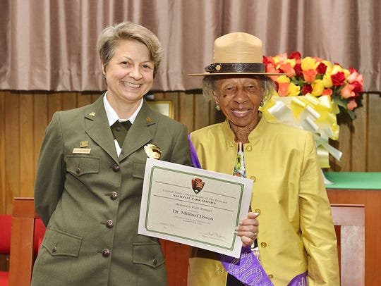 Dr. Dixon celebrated her 100th birthday Sept. 7 and