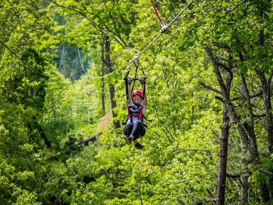 Navitat Canopy Adventures is in Barnardsville.
